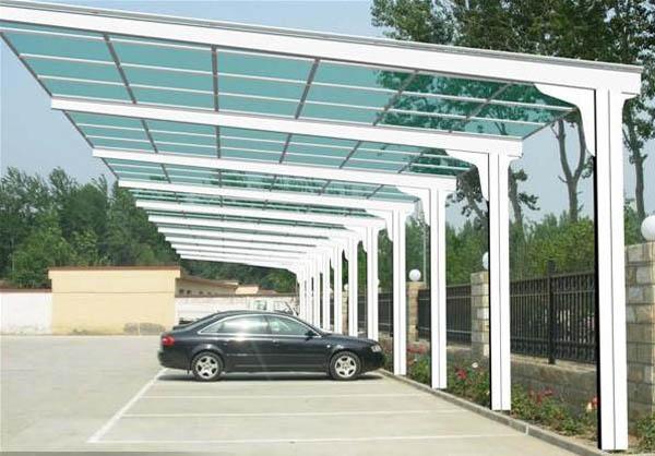 钢结构阳光棚