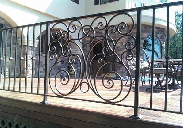 方圆铁艺围栏